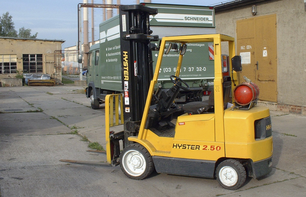 2.5 t Hyster forklift