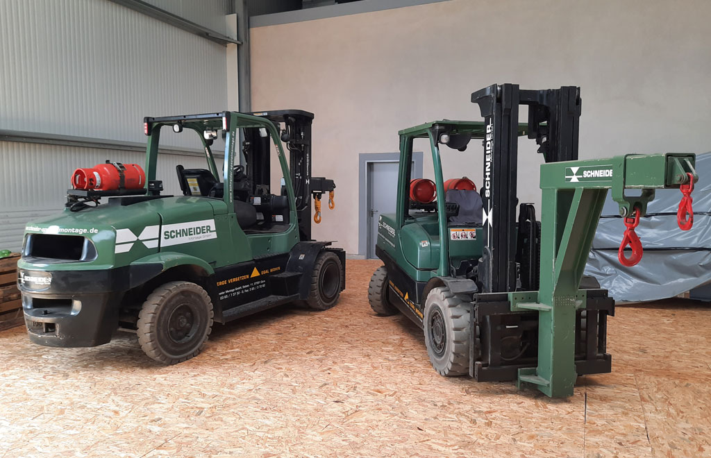 5.5 t Hyster forklift